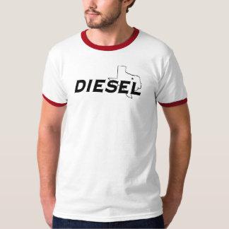 T-shirt diesel do Wringer do softball de Dallas Camiseta