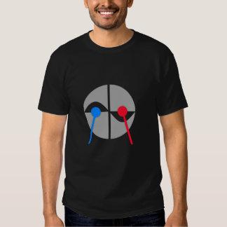 T-shirt diferente do baterista
