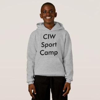 T-shirt do acampamento do esporte de CIW
