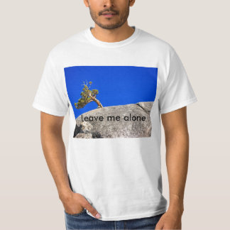 T-shirt do adolescente: Deixe-me sozinho!