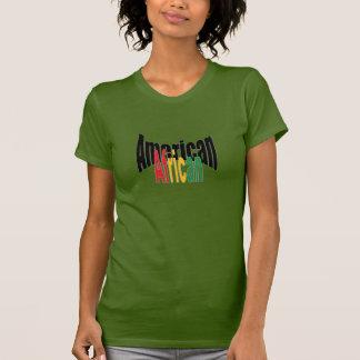 T-shirt do afro-americano