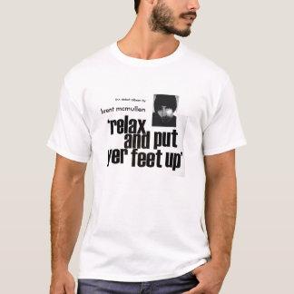 t-shirt do álbum camiseta