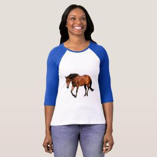 T-shirt do amante do cavalo camiseta