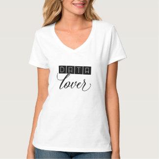 T-shirt do amante dos dados camiseta