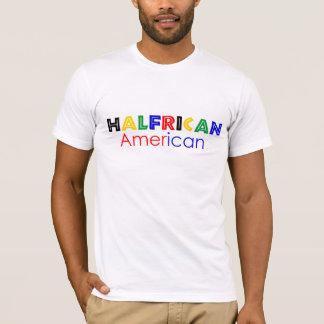 T-shirt do americano de Halfrican Camiseta