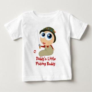 T-shirt do amigo da pesca do pai camiseta para bebê