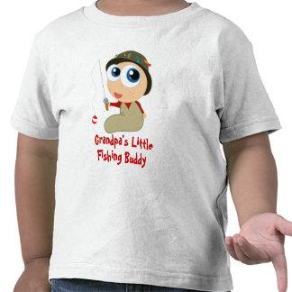 T-shirt do amigo da pesca do vovô pouco
