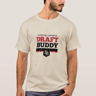 T-shirt do amigo do esboço