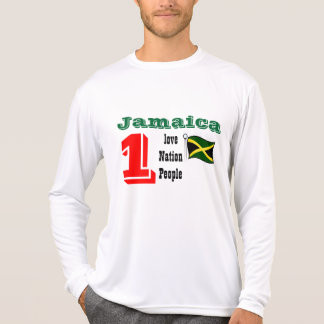 t-shirt do amor de jamaica um