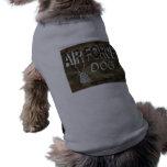 T-shirt do animal de estimação da força aérea