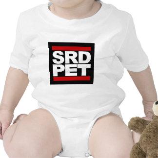 T-shirt do ANIMAL DE ESTIMAÇÃO de SRD bebê