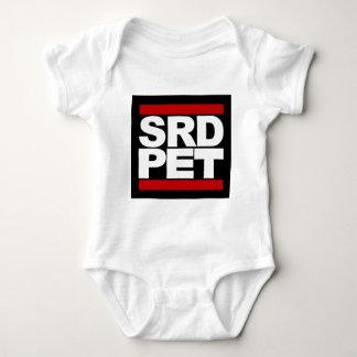 T-shirt do ANIMAL DE ESTIMAÇÃO de SRD (bebê)
