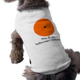 T-shirt do animal de estimação do Dia das Bruxas 2 Roupa Para Pet