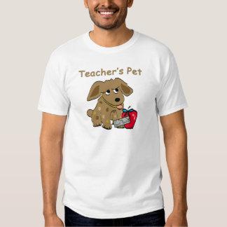 T-shirt do animal de estimação do professor