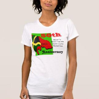 T-shirt do aniversário de Jamaica 50th
