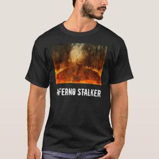 T-shirt do assediador do inferno camiseta