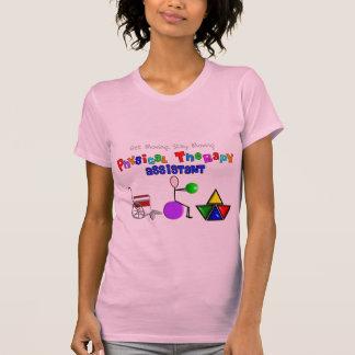 T-shirt do assistente da fisioterapia camiseta