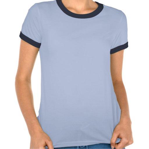 """T-shirt do azul das senhoras do Mayor """"Sun ártico"""""""