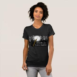 T-shirt do Beautician do mágico Camiseta