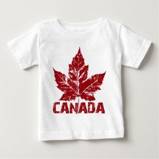 T-shirt do bebê da lembrança de Canadá da camisa