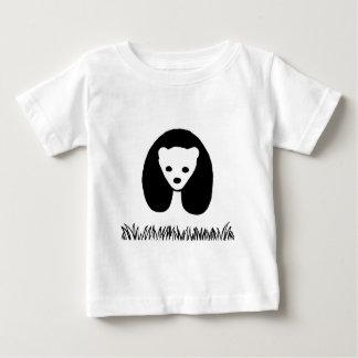T-shirt do bebê da panda camiseta para bebê