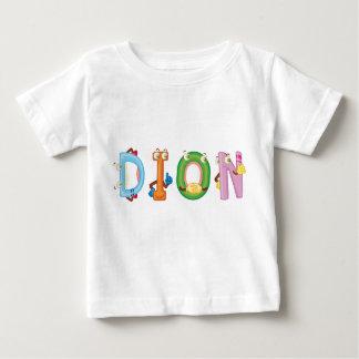 T-shirt do bebê de Dion Camiseta Para Bebê