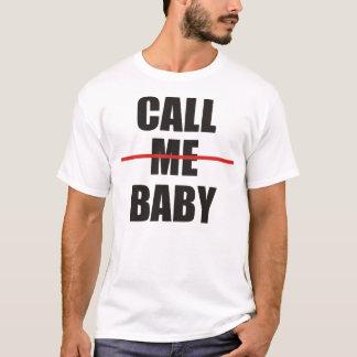 """T-shirt do bebê de EXO """"chame-me"""" Camiseta"""