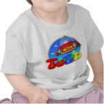 T-shirt do bebê de TuTiTu