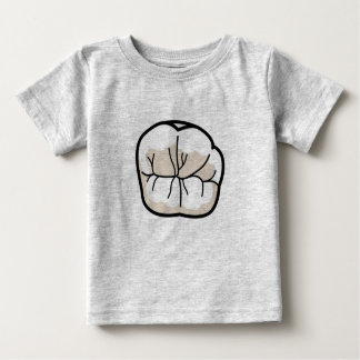 T-shirt do bebê do dente