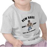 T-shirt do bebê do novo papai