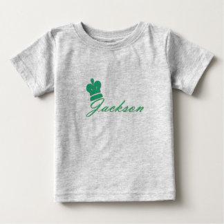 T-shirt do bebê do rei Jackson Camiseta Para Bebê