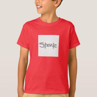 T-shirt do bmx da faísca camiseta