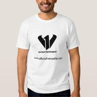 t-shirt do branco de v1entertainment