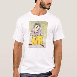 T-shirt do branco do empacotador de Quintara Camiseta