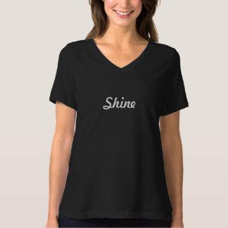 T-shirt do brilho camiseta