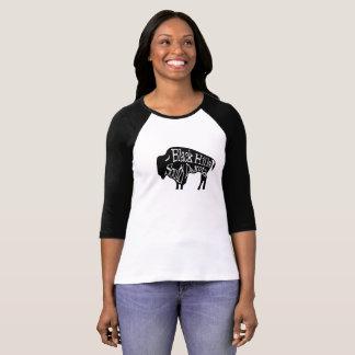 T-shirt do búfalo do bisonte de Black Hills South Camiseta