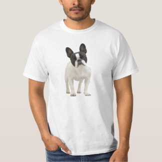 T-shirt do buldogue francês, ideia do presente
