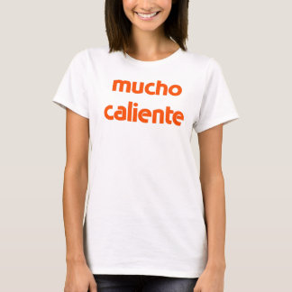 t-shirt do caliente do mucho camiseta