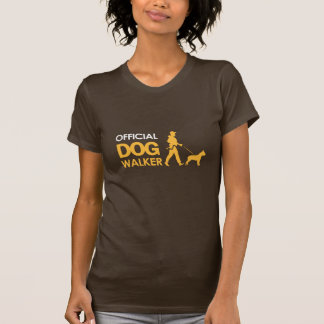 T-shirt do CAMINHANTE do CÃO de PitBull