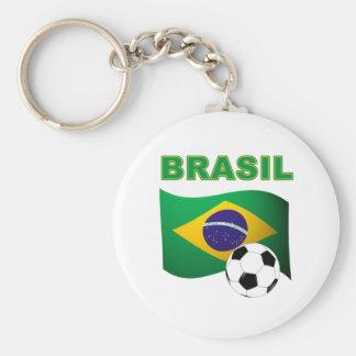 T-shirt do campeonato do mundo de Brasil Chaveiros