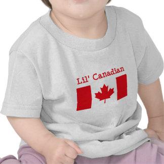 T-shirt do canadense de Lil