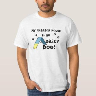 T-shirt do cão da agilidade do cão do faraó