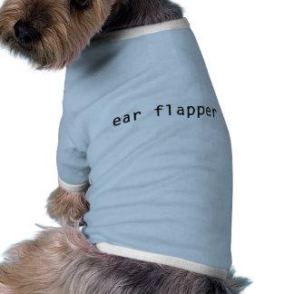 T-shirt do cão do Flapper da orelha