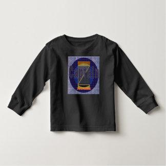T-shirt do capitão Z Criança Longo Luva