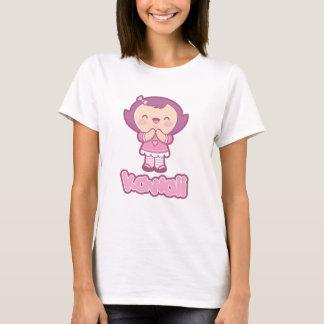 T-shirt do caráter de Kawaii Mariko Camiseta