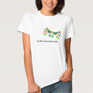 T-shirt do carnaval das senhoras a personalizar