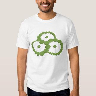 """T-shirt do círculo da colheita de """"Triskelion"""""""