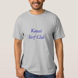 T-shirt do clube do surf de Kauai
