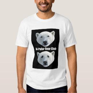 T-shirt do clube do urso polar do Bi