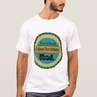 T-shirt do coletor do trem do calibre de O Camiseta